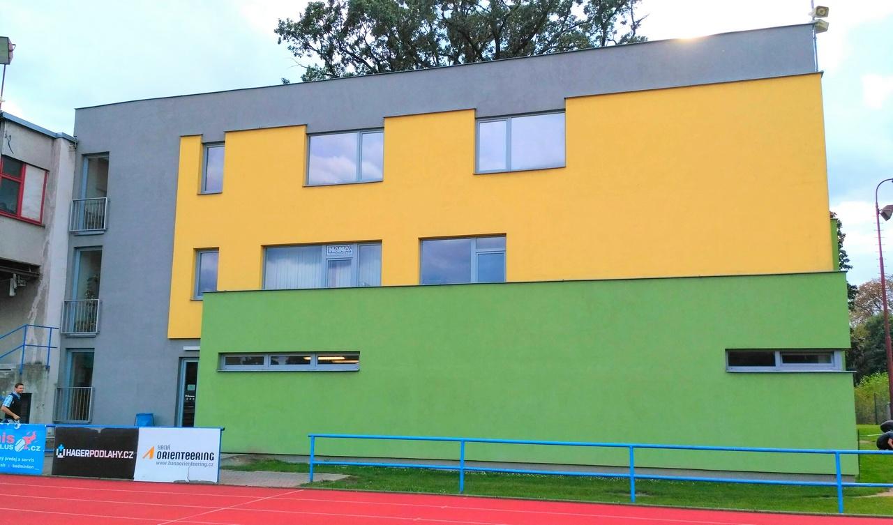 Budova tělocvičny, 17. listopadu 3, Olomouc